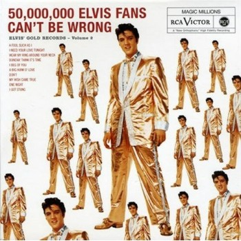 ELVIS PRESLEY 50 Million Elvis Fans Can't Be Wrong  CD FTD