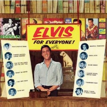 ELVIS PRESLEY FOR EVERYONE   CD FTD