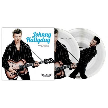 Johnny Hallyday - 45 Tours - Picture Disc N°09 (Version Française/Version Etrangère)