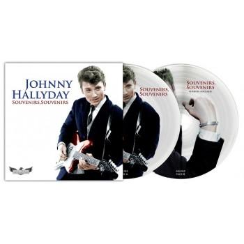 45 Tours - Johnny Hallyday - Souvenirs, Souvenirs - Picture Disc N°10 (Vinyle 7'')