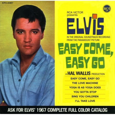 ELVIS PRESLEY Easy Come, Easy Go