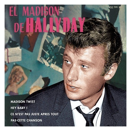 Johnny Hallyday - CD - El Madison De Hallyday - EP Pochette Espagnole