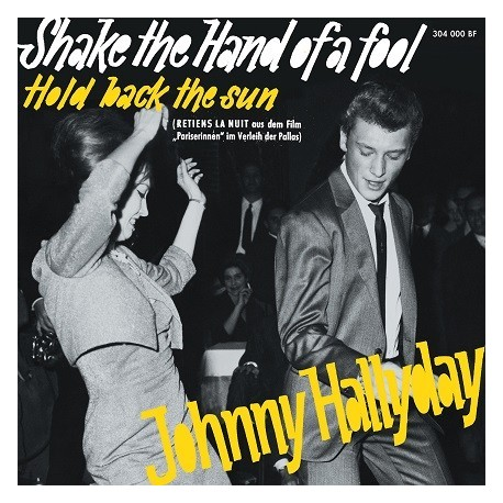 Johnny Hallyday - CD -  Shake The Hand Of A Fool - EP Pochette Allemande