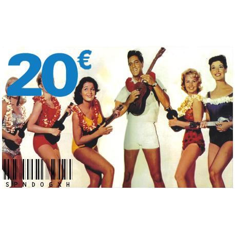 Carte Cadeau Elvis 20 €