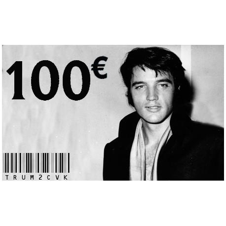 Carte Cadeau Elvis 100 €