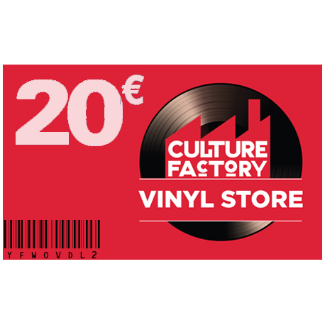 Carte Cadeau Culture Factory 20 €