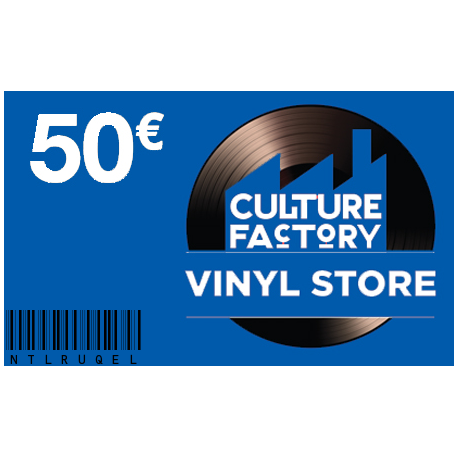 Carte Cadeau Culture Factory 50 €
