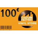 Carte Cadeau Culture Factory 100 €