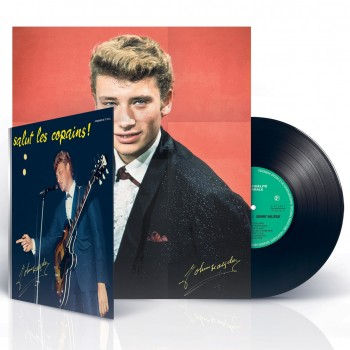 Johnny Hallyday - 25 cm - Salut Les Copains (+CD inclus)