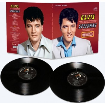 ELVIS SPEEDWAY   2LP LIMITED EDITION