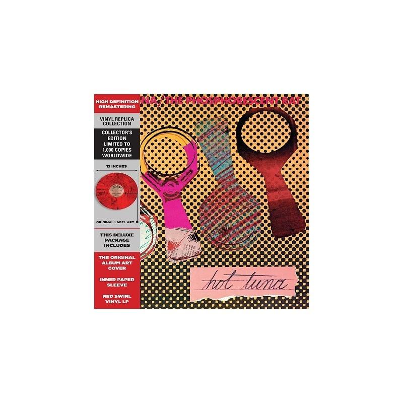 Hot Tuna - 33 Tours (Red Swirl) - Phosphorescent Rat