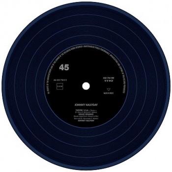 Hallyday, Johnny -  45 Tours - Wap-Dou-Wap - EP Pochette Grecque (Vinyle Bleu)
