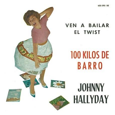 Hallyday, Johnny - CD -  100 Kilos De Barro - EP Pochette Espagnole