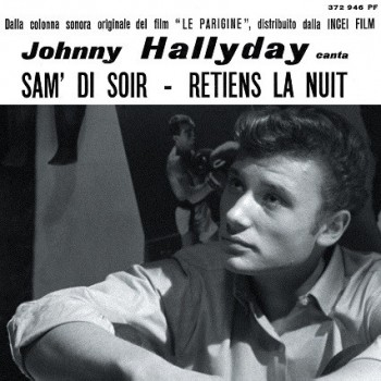 Hallyday, Johnny - CD - Retiens La Nuit - EP Pochette Italienne