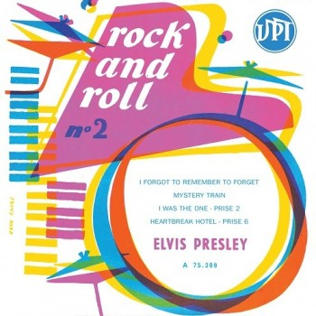 Elvis Presley - 45 Tours - Rock And Roll N°2 (La Batterie)