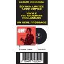 Johnny Hallyday - 33 Tours - Vogue Made In Hollande (Vinyle Noir)