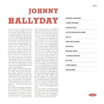 Johnny Hallyday - 33 Tours - Vogue Made In Hollande (Vinyle Noir)