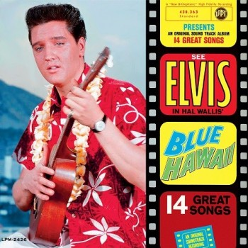 Elvis Presley - 33 Tours - Blue Hawaii (Vinyle Bleu) - RSD 2017