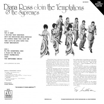 Diana Ross & The Supremes - Join The Temptations