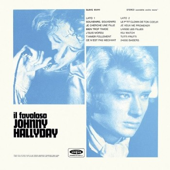 Johnny Hallyday - 33 Tours - Vogue Made In Italie - Il Favoloso (Vinyle Noir)