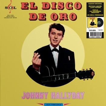 Johnny Hallyday - 33 Tours - Vogue Made In Mexique - El Disco De Oro (Vinyle Noir)
