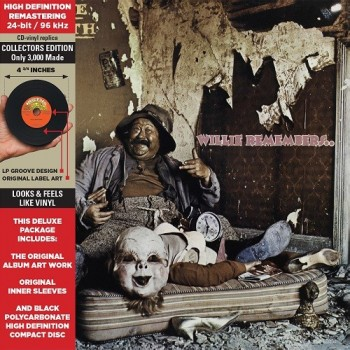 CD - Rare Earth - Willie Remembers...
