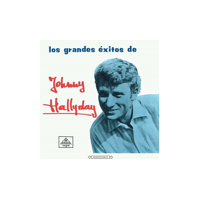 33 tours - Johnny Hallyday - Vogue Made In Colombie - Los Grandes Exitos (Vinyle)