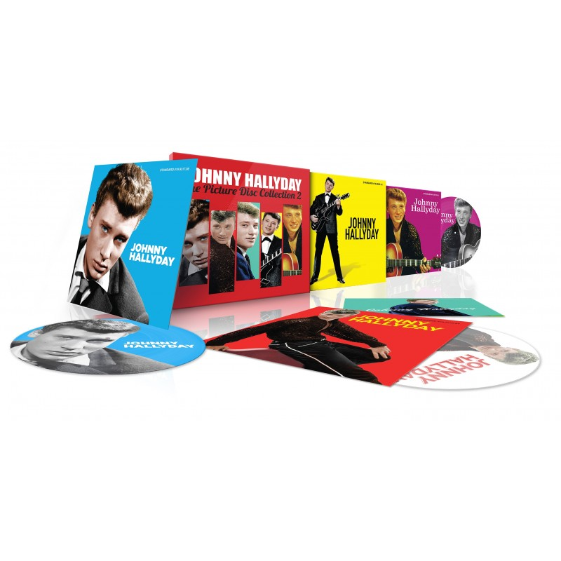 Johnny Hallyday Coffret The Picture Disc Collection Vol