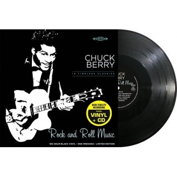 Chuck Berry - 33 Tours - Rock And Roll Music (Vinyle Noir) + CD
