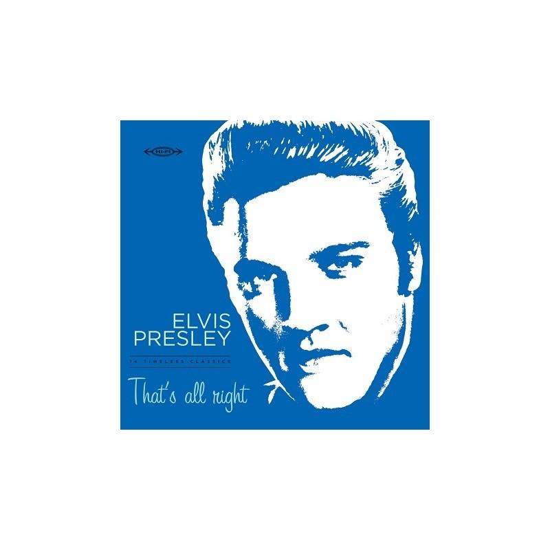 Elvis Presley - 33 Tours - That's All Right (Vinyle Bleu) + CD