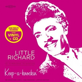 Little Richard - 33 Tours - Keep A-Knockin' (Vinyle Rose) + CD