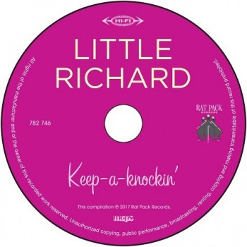 Little Richard - 3 Tours - Keep A-Knockin' (Vinyle Rose) + CD
