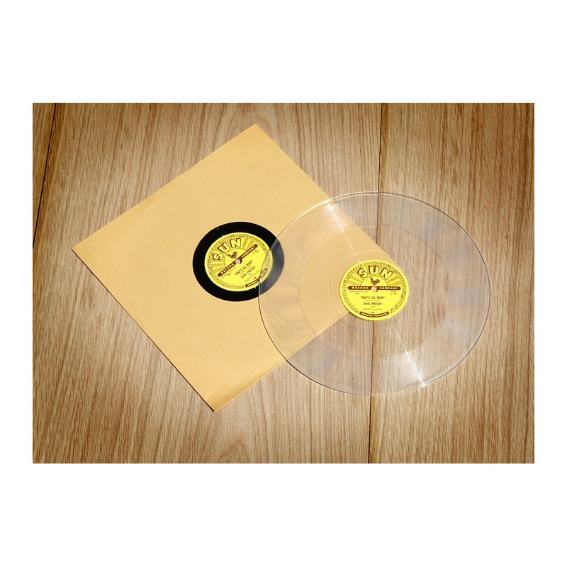 78 TOURS SUN RECORD VINYLE TRANSPARENT  U 128