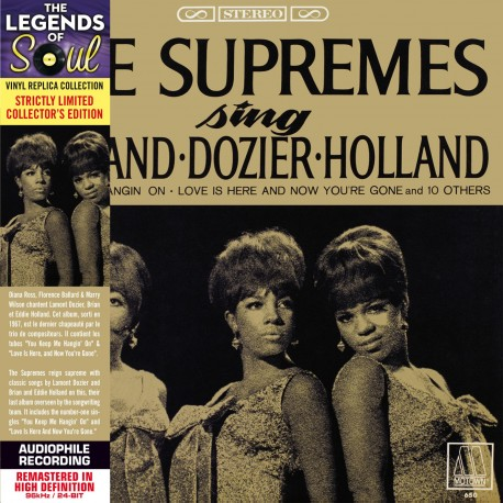 Supremes, The - Sing Holland Dozier Holland
