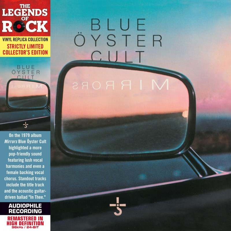 CD - Blue Oyster Cult - Mirrors