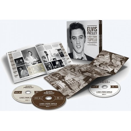 ELVIS PRESLEY A BOY FROM TUPELO COFFRET CD