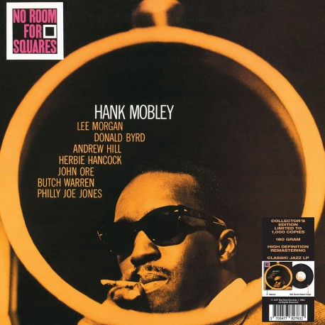 Hank Mobley - 33 Tours - No Room For Squares (Vinyle Noir)