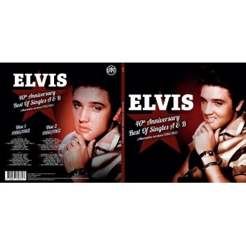 Elvis Presley - 33 Tours - 40th Anniversary - Best Of Singles A & B (Vinyle Noir)