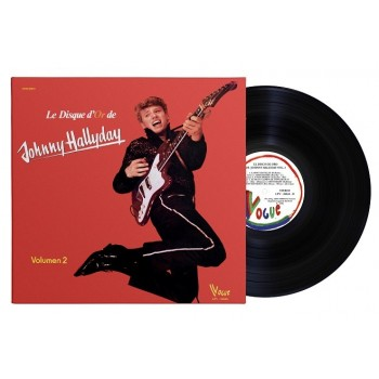 Johnny Hallyday - 33 Tours - Vogue Made In Venezuela - Le Disque D'or (Vinyle Noir)