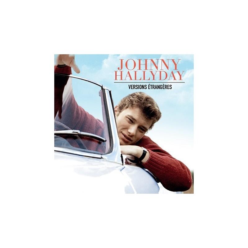 Johnny Hallyday - 33 Tours - Versions Étrangères (Vinyle Noir)