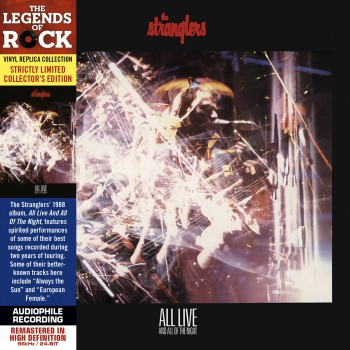 CD - The Stranglers - All Live and All Of The Night