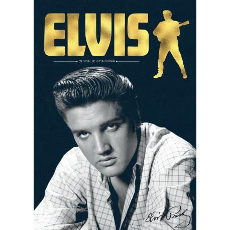 Elvis Presley - Calendrier 2018 A3