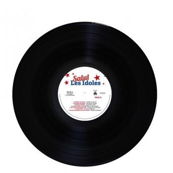 Various - 33 Tours - Salut Les Idoles (Vinyle Noir)