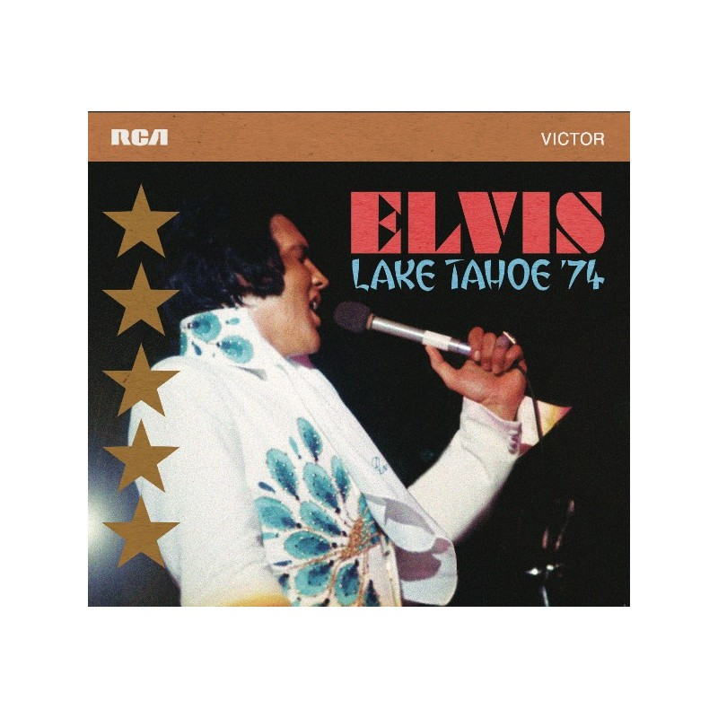 ELVIS PRESLEY - LAKE TAHOE '74 - CD FTD
