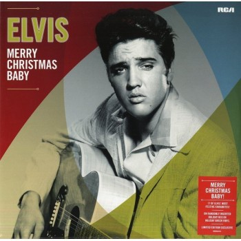 Elvis Presley ‎– Merry Christmas Baby
