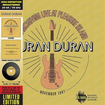 CD - Duran Duran - Thanksgiving Live At Pleasure Island