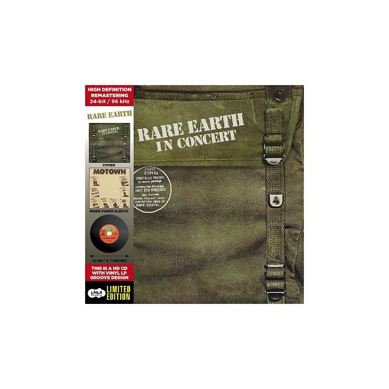 CD - Rare Earth - In Concert
