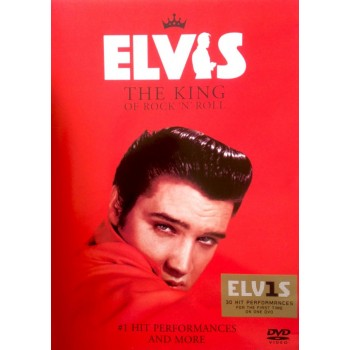 ELVIS PRESLEY  - THE KING OF ROCK'N'ROLL - DVD