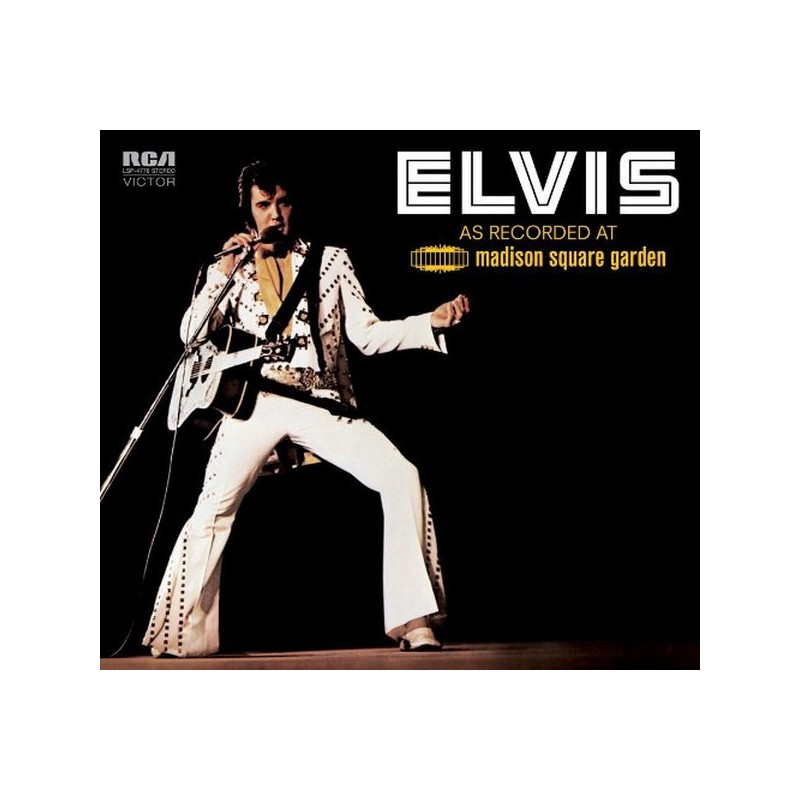 Elvis Presley ‎– Elvis As Recorded At Madison Square Garden - CD