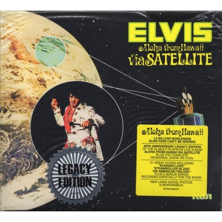 Elvis Presley ‎– Aloha From Hawaii Via Satellite